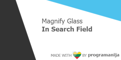 Magnify Glass in Search Field