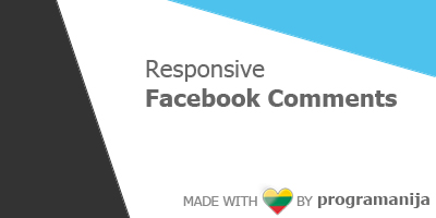 Responsive Facebook Comments